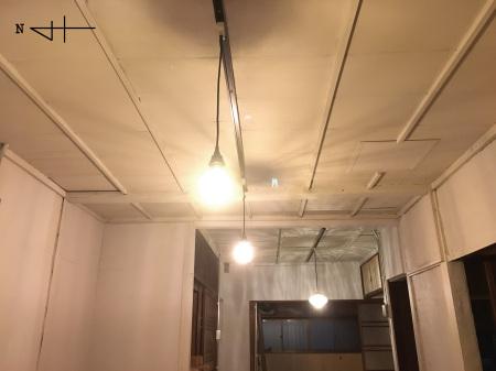 塗装 天井